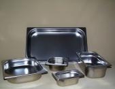 Gastronormbehälter Edelstahl 1/2 GN 100 mm tief